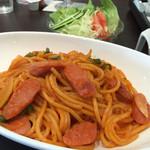 よりみち - 料理写真:ナポリタン 750円
