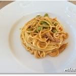 イタリア料理 ツインバード - ズワイガニと枝豆のトマトクリームパスタ
