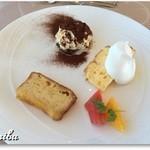 イタリア料理 ツインバード - ドルチェ3種盛り