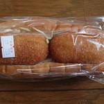 サンドウィッチ藤屋 - 料理写真:カニクリームコロッケパン