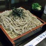 朝霧山荘 - 料理写真:朝霧山荘・ざるそば¥750