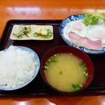 TSUDA屋 - 朝定食B 500円(税込)