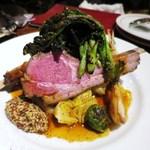 トラディシオン - 厚切り!骨付き仔羊背肉のロースト