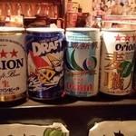 みやらび - オリオンビール各種(飾り)