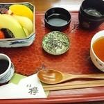 茶房 欅 - あんみつ☆