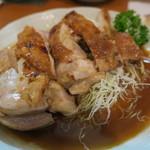 ひら川 - 27年7月 鶏柚子胡椒