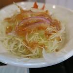 ひら川 - 27年7月 御膳のサラダ