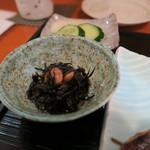 ひら川 - 27年7月 御膳の小鉢