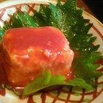 遊食酒蔵 味源 - 豆腐ようは定番です。 酸味が効いたタイプ。