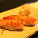 鮨 甚平 - ボイルした海老