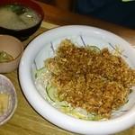 陶千矛 - スパイシーチキン定食