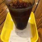 フレッシュネスバーガー - アイスコーヒーT 345円(税込)