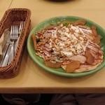 シェーンズグリルTOKYO - シナモンアップル&キャラメルパンケーキ