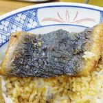海鮮丼の駅前 - うなぎ丼 \980(税抜)