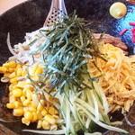 めん丸 - 冷やし中華(醤油タレ)