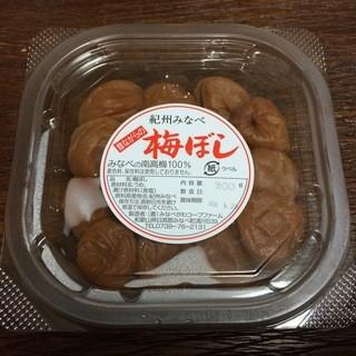 道の駅 みなべうめ振興館 - 料理写真:昔ながらの梅ぼし 200g 450円