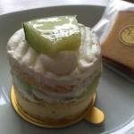 お菓子のゆりかご - メロンのショート
