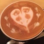 バール イスタ - ☆キュートなカフェラテです☆
