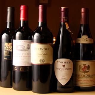 ワールドワイドに集めたワイン達
