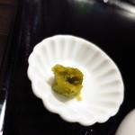 めんや風来房 - 鶏塩に付いてくる別皿「柚子胡椒」