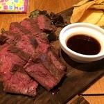 肉とワインYayenGrill - 牛ハラミステーキ 1180円