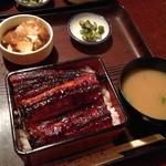 寿司屋の武井 - 料理写真:うな重 2500円