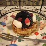 ことりカフェ - 桜文鳥のケーキ