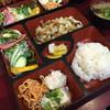 餃子園 - 料理写真:豚キャベツ定食800円