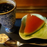 活き魚料理よし川 - アフター珈琲&デザート