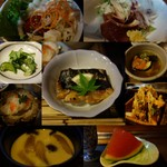 活き魚料理よし川 - 料理コラージュ