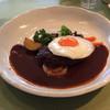 欧風キッチン アンシャンテ - 料理写真:ハンバーグ デミグラスソース