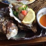 日本料理 蛇の目 - 料理写真:岩牡蠣