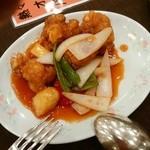 40295967 - 鶏肉の甘酢ソース