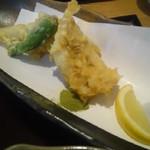 40296091 - 穴子の天ぷらは抹茶塩で。