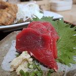 博多漁家磯貝  しらすくじら - 鯨刺身
