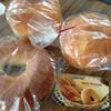 Santonore - 料理写真:あんバター130円/ブリオッシュ180円/ベーグル クランベリーチーズ180円