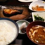 ひもの あん梅 - 銀だら西京焼き定食