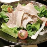 an牛 - 冷やし豚しゃぶランチ800円
