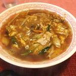 リトルチャイナ - 酢辣湯麺、750円
