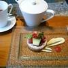 リビングルーム - 料理写真:季節のタルトとダージリン