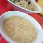 ラーメン 阿里山 - スープ