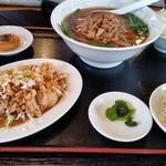 中華料理 九龍城 - 油淋鶏定食
