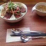 40306937 - ローストビーフ丼セット