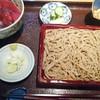 蕎庵 卯のや - 料理写真:日替わり膳まぐろ!