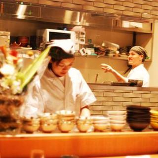 和食歴20年以上の熟練職人が真心こめてお造りさせて頂きます