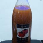 佐藤農園農産物直売所 - 高濃度トマトジュース 1,000円
