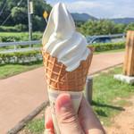 道の駅 もっくる新城 - 北海道ソフトクリーム☆