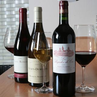 グラスワイン40種以上!