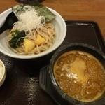 眞 - 特製カレーつけ麺(並)
