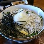 仙の坊 - 釜揚げしらす丼(720円)